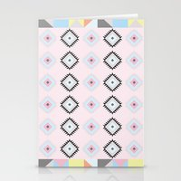 kilim Stationery Cards featuring Kilim Print by Wayward Broad Studio