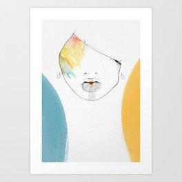 Hourglass Art Print
