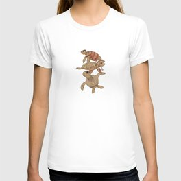 Winter Sea Turtles T-shirt