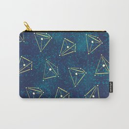 Tetrahedral Molecular Geometry Constellation Art Carry-All Pouch