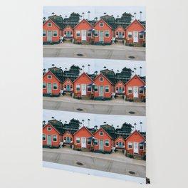 Beach Bungalows Wallpaper