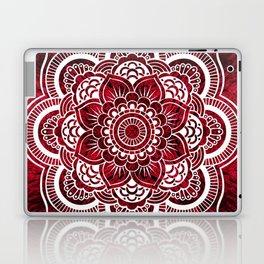 Mandala Red Colorburst Laptop & iPad Skin