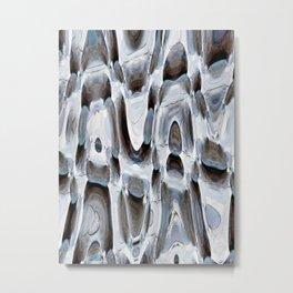 Warped Abstract Metal Print