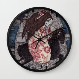 My Summer Days Wall Clock