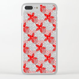 pattern 111 Clear iPhone Case