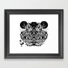 Scorn Pourer Framed Art Print