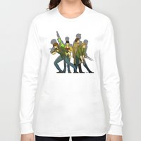 supernatural Long Sleeve T-shirts featuring Supernatural by Justyna Rerak