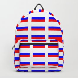 Flag of russia 2 -rus,ussr,Russian,Росси́я,Moscow,Saint Petersburg,Dostoyevsky,chess Backpack