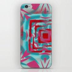 Pinkstarredbox iPhone & iPod Skin