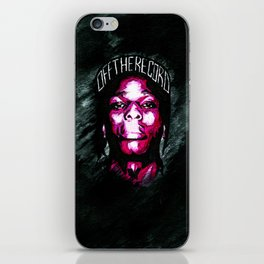 Purple $wag iPhone Skin