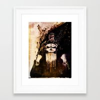 punisher Framed Art Prints featuring Punisher by hbCreative