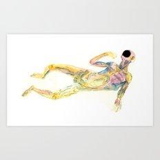Cuerpo 02 Art Print