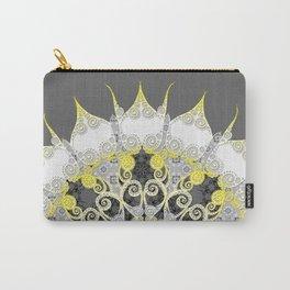 Lemon Pie Mandala Pattern Carry-All Pouch