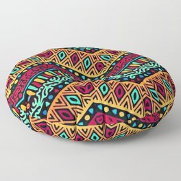 African Style No1 Floor Pillow