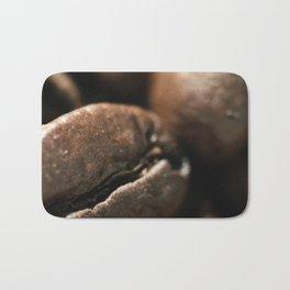 Coffee beans macro photo, fine art, still life, interior decoration, for bar & restaurant, Pub sign Bath Mat