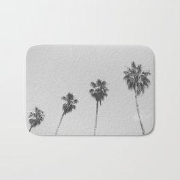 PALM TREES IV / San Francisco, California Bath Mat