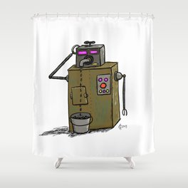 Leaky Faucet Shower Curtain