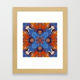 Kap Kaleidoscope Abstract 01 Framed Art Print
