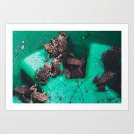 Toad Pile Art Print