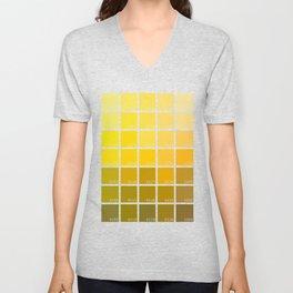 Shades of Yellow Pantone Unisex V-Neck