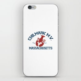ChilMark, Martha's Vineyard. Cape Cod iPhone Skin
