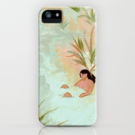 River Meeting iPhone Case