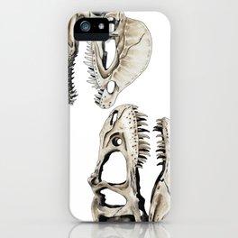 Dilophosaurus Skull iPhone Case
