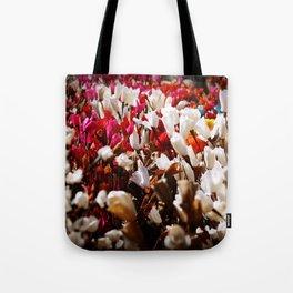 Paper flowers Tote Bag