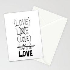 XLOVE Stationery Cards