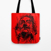 dali Tote Bags featuring Dali by nicebleed
