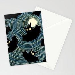 Bats Stationery Cards