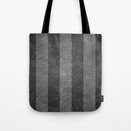 Grey Stripes Tote Bag