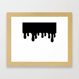 The Ooze Framed Art Print