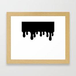 The Ooze Framed Art Print