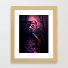 The Key Keeper Framed Art Print