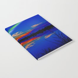North light over a lake Notebook