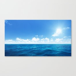 Open Ocean - Tropical Horizons Series Canvas Print