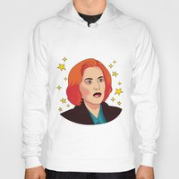 mulder Hoodies featuring Mulder No by fin apollo