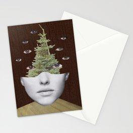 Almas de mirada omnipotente Stationery Cards