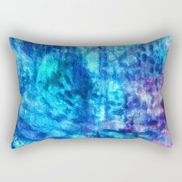 Going with the Flow Rectangular Pillow