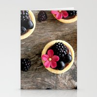 dessert Stationery Cards featuring DESSERT IV by Ylenia Pizzetti
