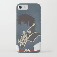 fire emblem iPhone & iPod Cases featuring Lon'qu / Lonqu Fire Emblem Awakening by MKwon