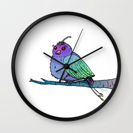 A Chirp Off the Old Block Wall Clock