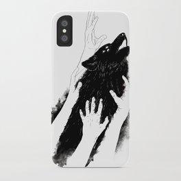 Wolves of Paris iPhone Case