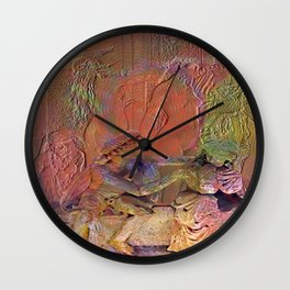 Stoned Lovers Wall Clock