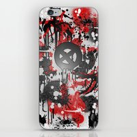 graffiti iPhone & iPod Skins featuring Graffiti  by Jonna Ivin