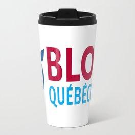 Bloc Quebecois (PQ) Logo Travel Mug