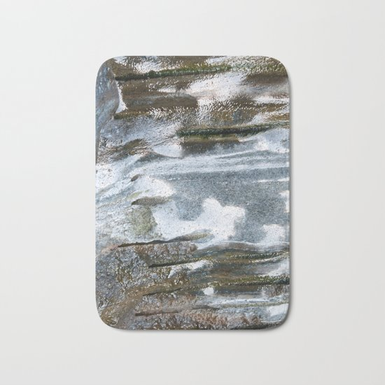 Soapstone texture #2 #decor #art #society6 Bath Mat