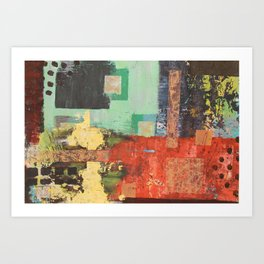 """comic relief"" Art Print"
