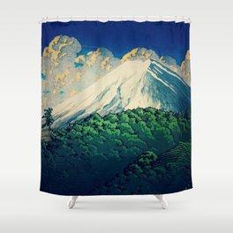 Resting at Gatahaka Shower Curtain